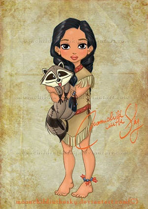 Les Disney Princesses (+ Elsa et Anna) [Topic Unique] Pocaho10