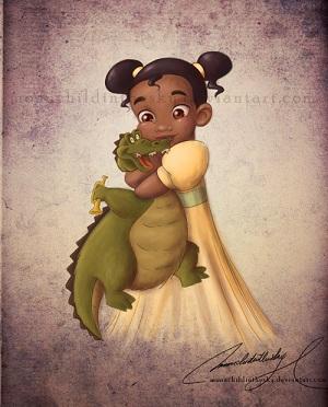 Les Disney Princesses (+ Elsa et Anna) [Topic Unique] Tiana11