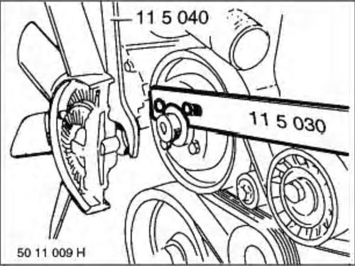 changement radiateur moteur  Demont10