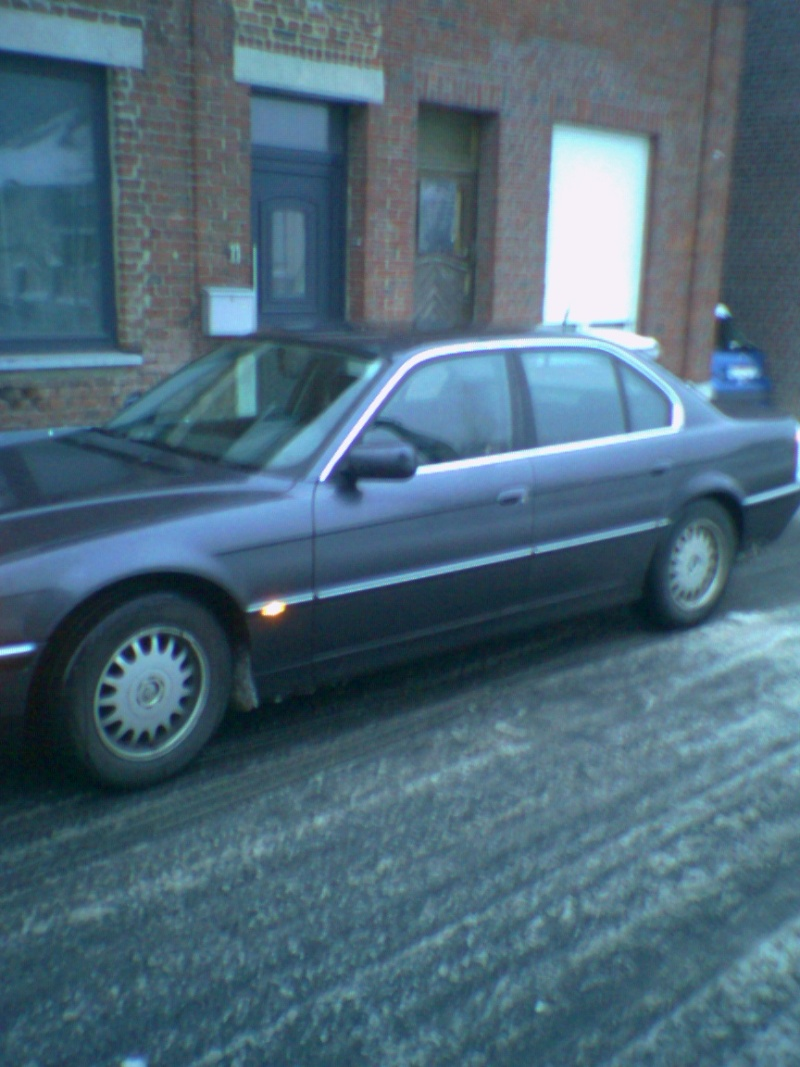 Mon autre: BMW 730i Fjordgrau de 1995 Photo011