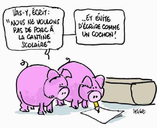 Cantine avec ou sans porc Viande10