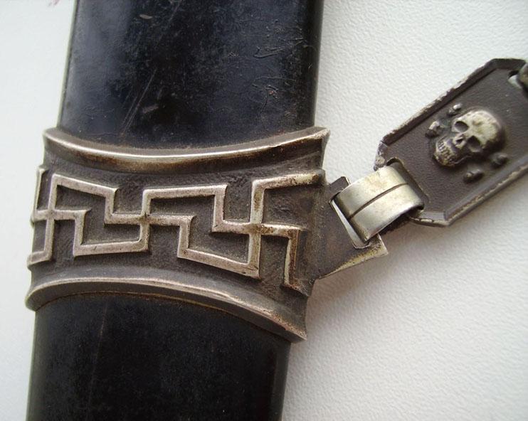 Authenticitè dague à chaine ss  Imgp3110