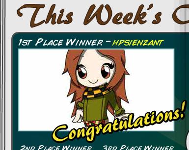 I won the Fantage Fanart Contest! 110
