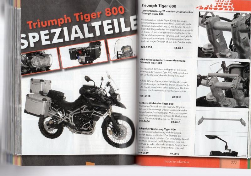 TRIUMPH Tiger 800 et 800XC Accessoires TOURATECH Page110