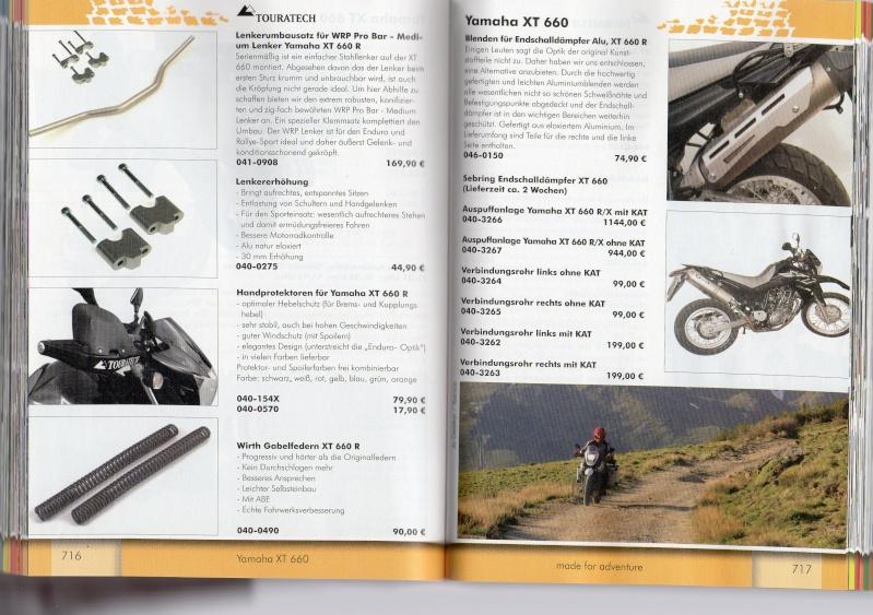 YAMAHA XT660R Accessoires TOURATECH Page111
