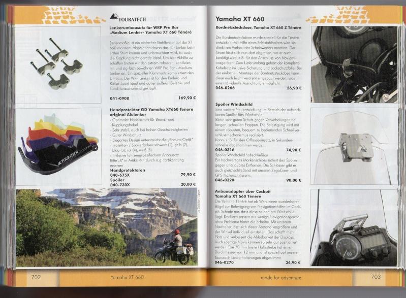 YAMAHA XT660 Z Ténéré Accessoires TOURATECH Page112
