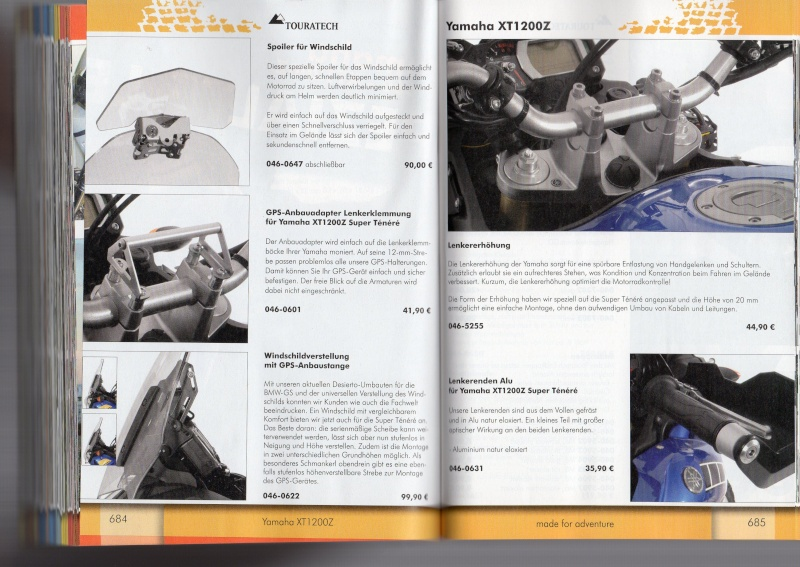 YAMAHA XT1200Z Accessoires TOURATECH Page113