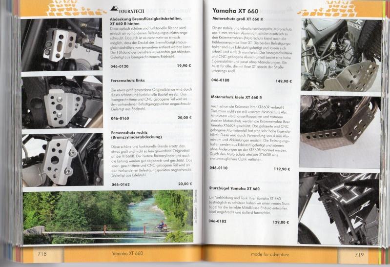 YAMAHA XT660R Accessoires TOURATECH Page211