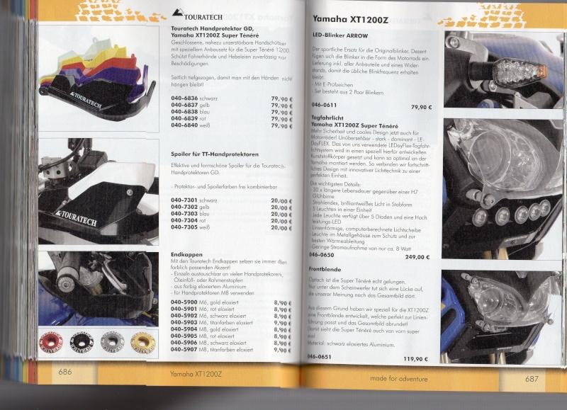 YAMAHA XT1200Z Accessoires TOURATECH Page213
