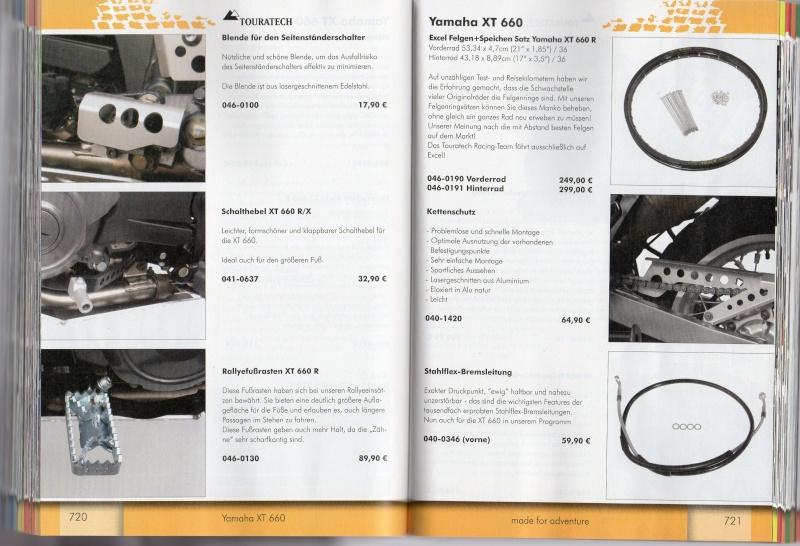 YAMAHA XT660R Accessoires TOURATECH Page311