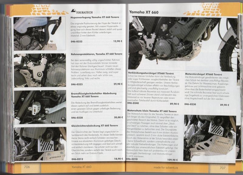 YAMAHA XT660 Z Ténéré Accessoires TOURATECH Page312