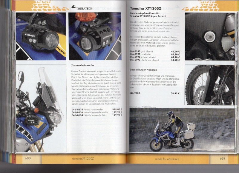 YAMAHA XT1200Z Accessoires TOURATECH Page313
