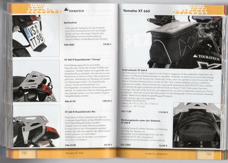 YAMAHA XT660R Accessoires TOURATECH Page411