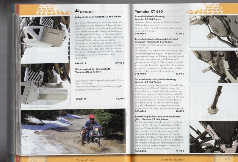 YAMAHA XT660 Z Ténéré Accessoires TOURATECH Page412