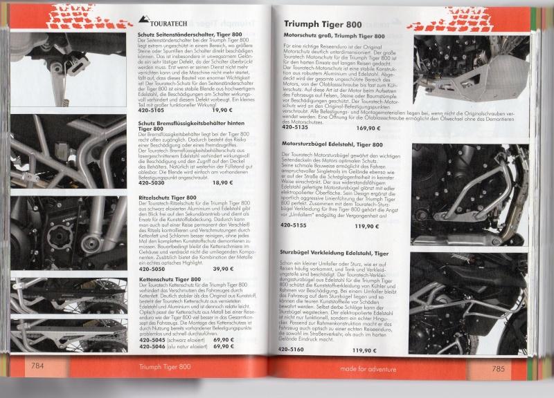 TRIUMPH Tiger 800 et 800XC Accessoires TOURATECH Page510