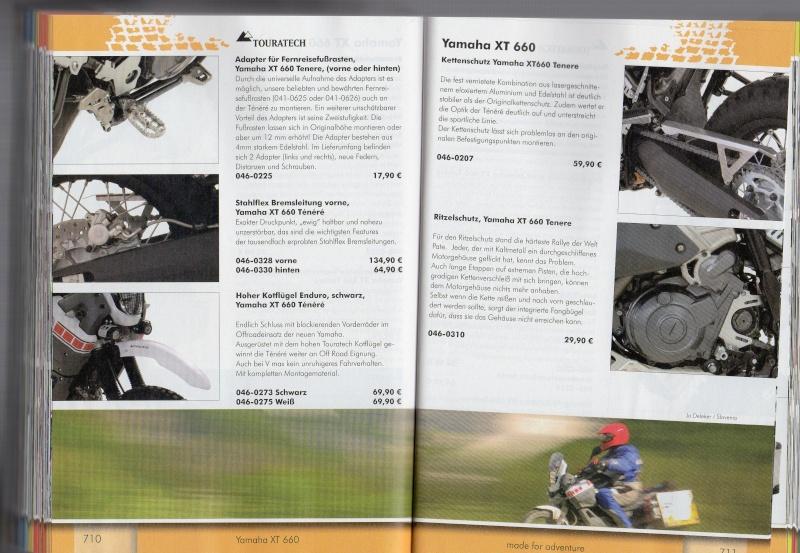 YAMAHA XT660 Z Ténéré Accessoires TOURATECH Page512