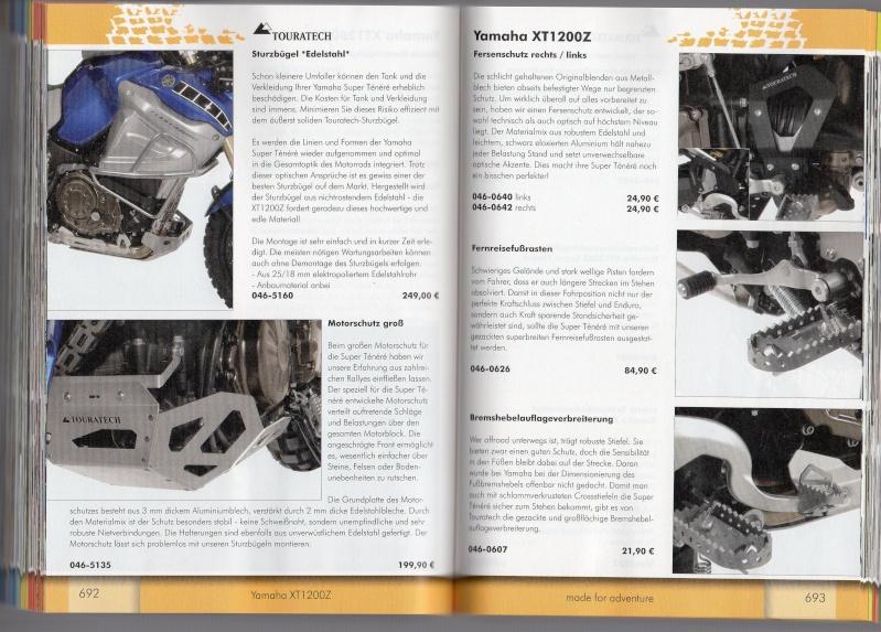 YAMAHA XT1200Z Accessoires TOURATECH Page513