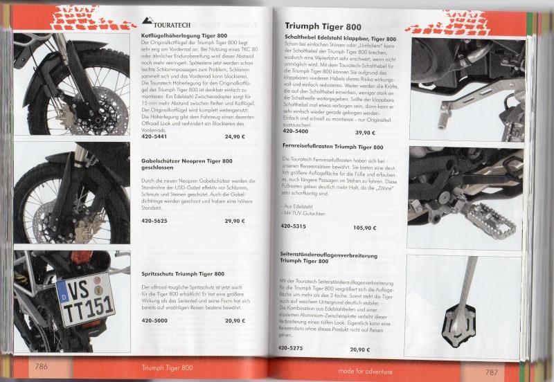 TRIUMPH Tiger 800 et 800XC Accessoires TOURATECH Page610