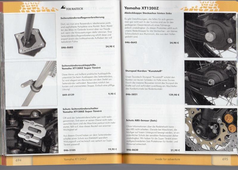 YAMAHA XT1200Z Accessoires TOURATECH Page612