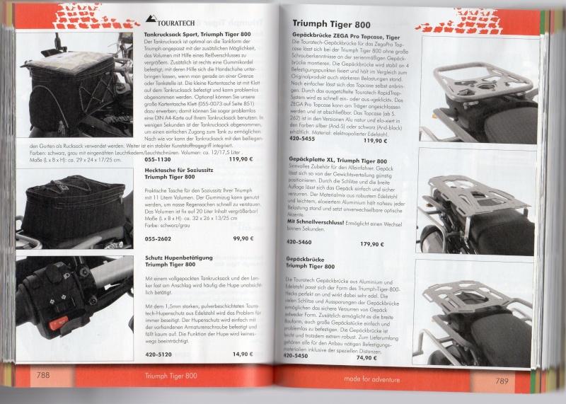 TRIUMPH Tiger 800 et 800XC Accessoires TOURATECH Page711
