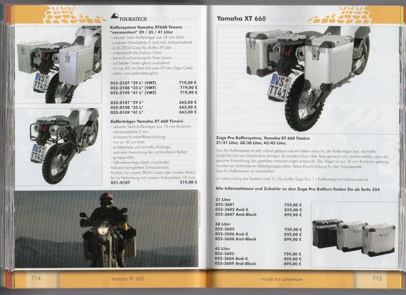 YAMAHA XT660 Z Ténéré Accessoires TOURATECH Page712