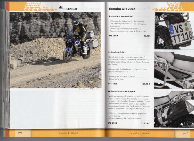 YAMAHA XT1200Z Accessoires TOURATECH Page713