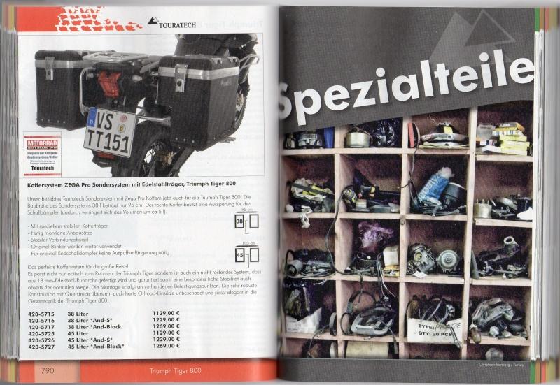 TRIUMPH Tiger 800 et 800XC Accessoires TOURATECH Page810