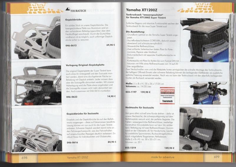 YAMAHA XT1200Z Accessoires TOURATECH Page811