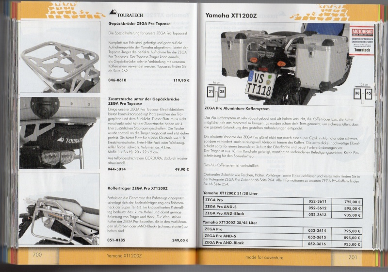 YAMAHA XT1200Z Accessoires TOURATECH Page910