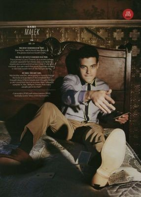 Rami Malek ( Benjamin ) Esquire Magazine Benjam10