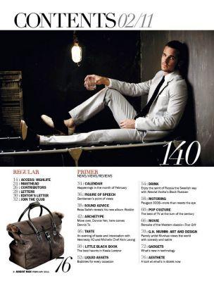Magazine August Man Camaug13