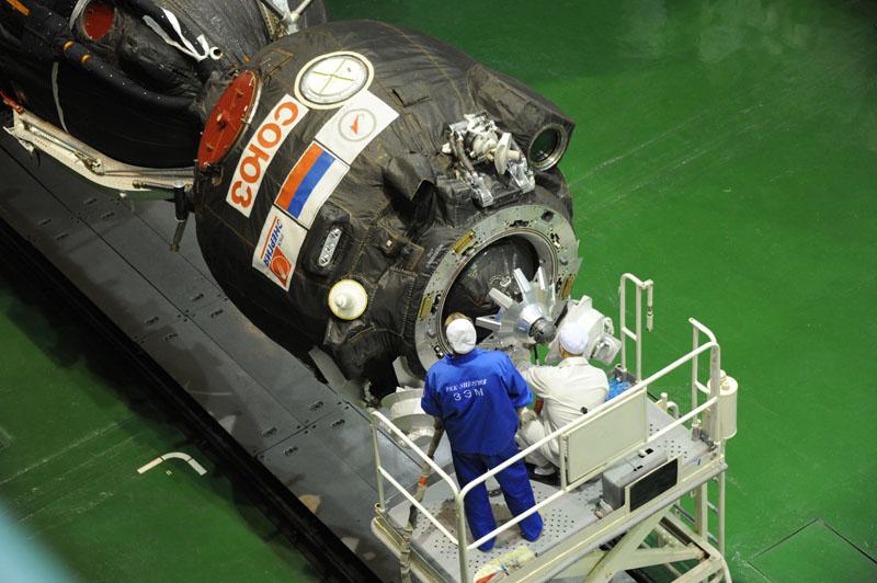Lancement & fin de mission de Soyouz TMA-10M  - Page 2 Soyuz106