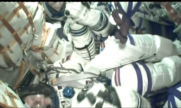 Lancement & fin de mission de Soyouz TMA-10M  - Page 3 Soyuz133