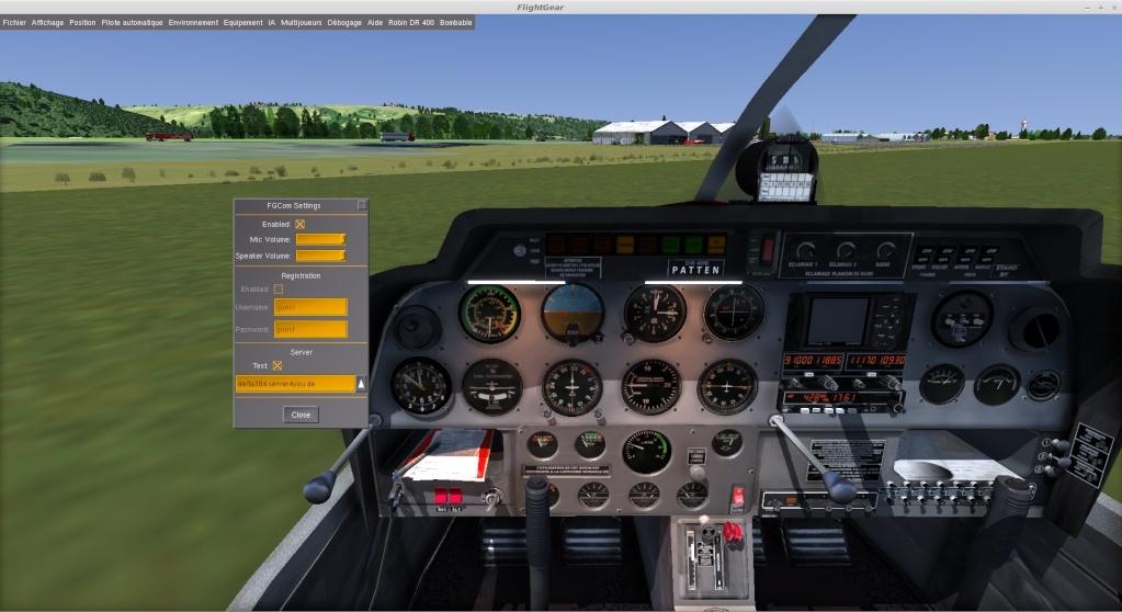 FGCom intégré à FlightGear Captur10
