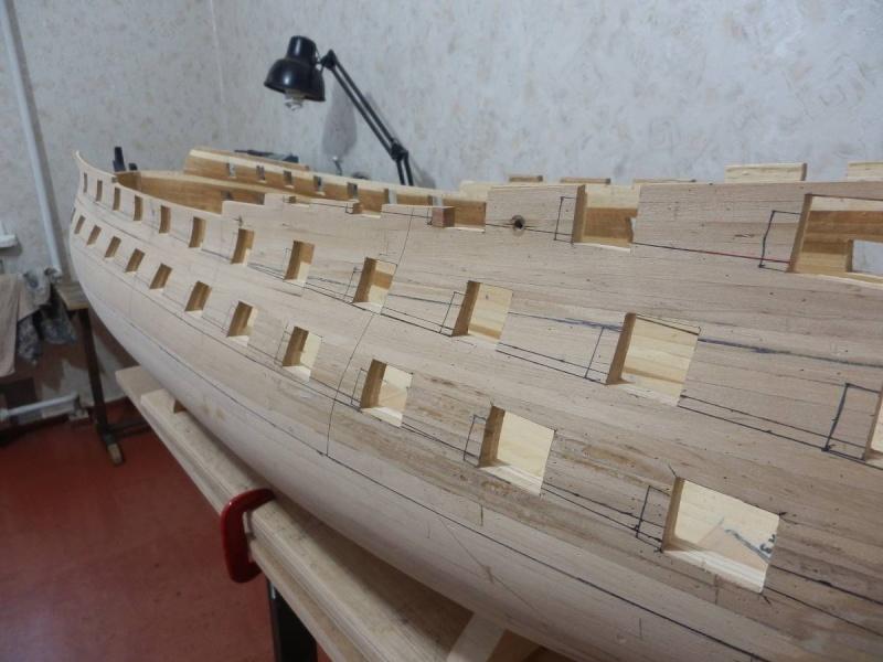HMS Cumberland 1774, 1:36  P3151310