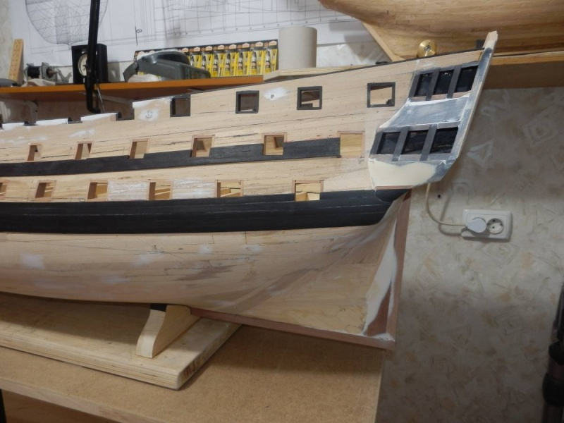 HMS Cumberland 1774, 1:36  P4011310