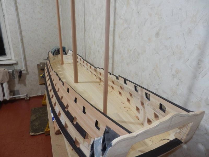 HMS Cumberland 1774, 1:36  P4061310