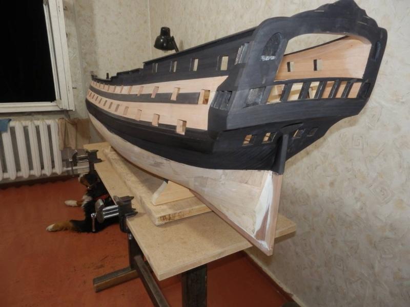 HMS Cumberland 1774, 1:36  P4231411