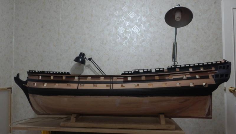 HMS Cumberland 1774, 1:36  P4291411