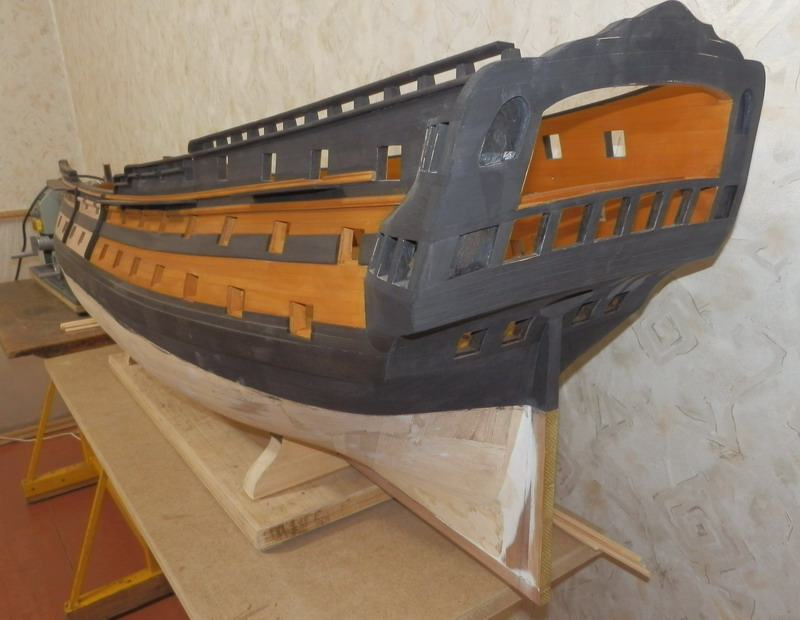 HMS Cumberland 1774, 1:36  P5091410