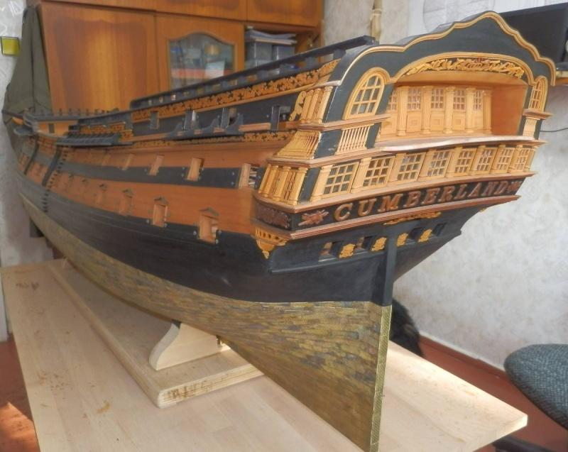 HMS Cumberland 1774, 1:36  P8162011