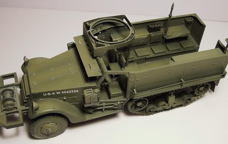 M3A1 Half-Track Dragon 1/35 Dscn6121