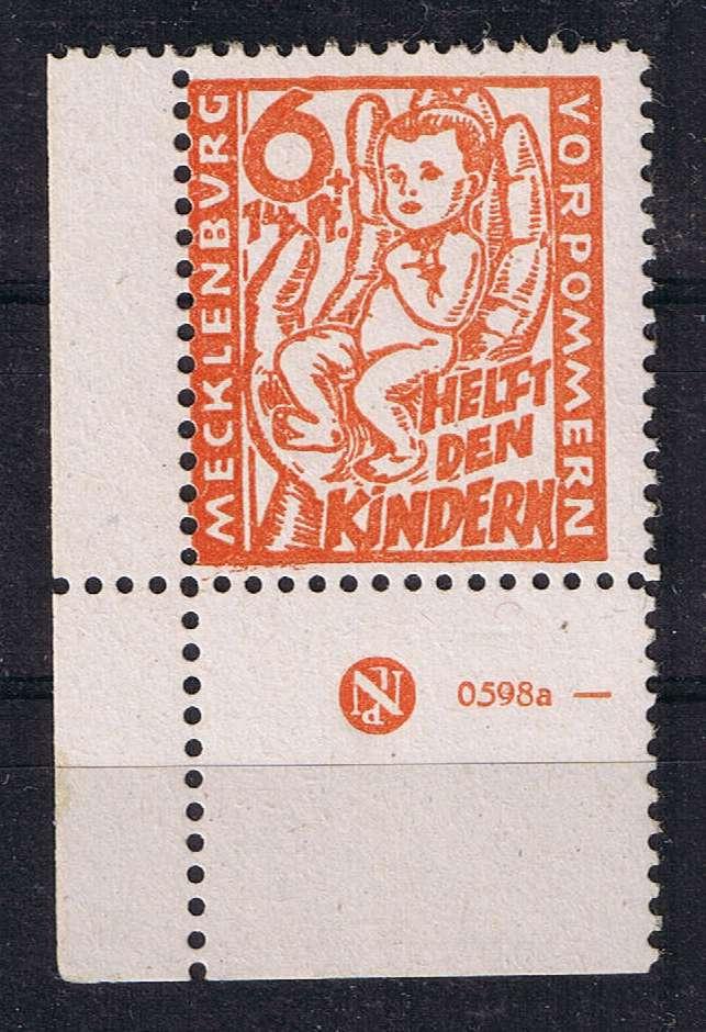 Mecklenburg - Mecklenburg - Vorpommern (OPD Schwerin) -Sowjetische Besatzungszone Cci14013