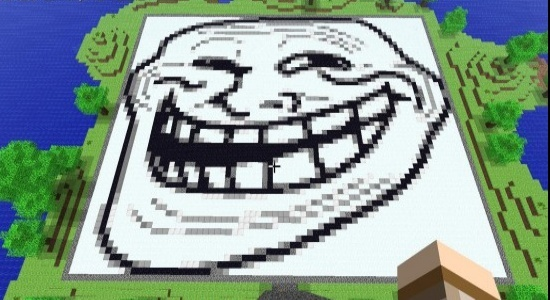 Your minecraft creations  Trollf10