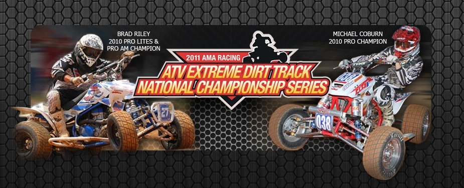 ATV Extreme Dirt Track Racing