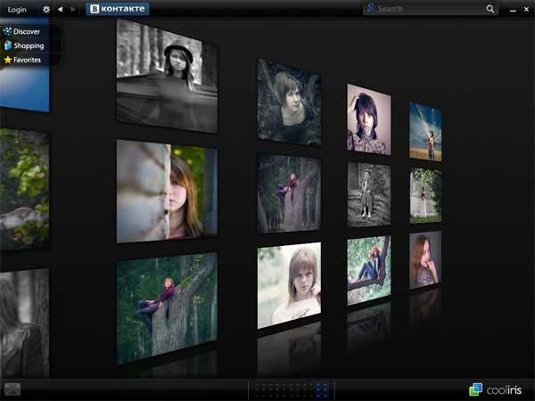 CoolIris (3D просмотр фотографий ВКонтакте)  Coolir10