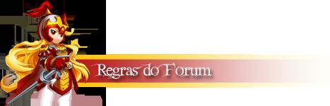 Regras para utilização do forum Regras11