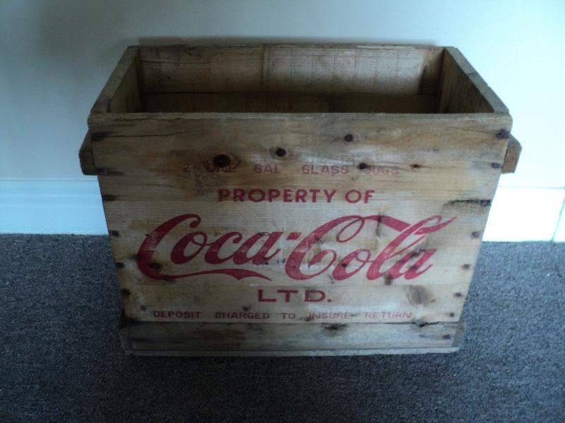 caisse de bois coca cola pour 2 gallon Dsc02023