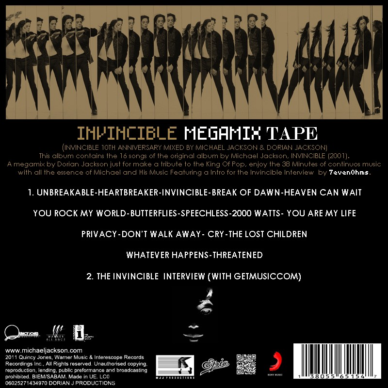 [DL] CD Box Invincible By Dorian 212