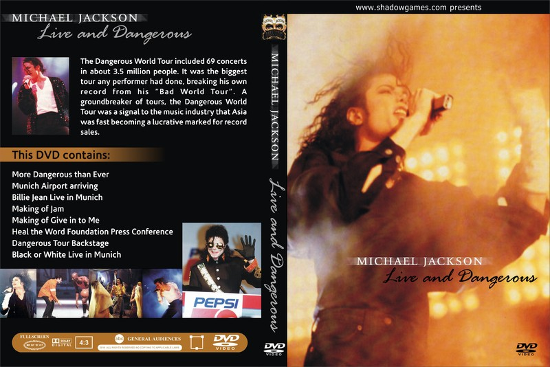 [Download] Live and Dangerous - More Dangerous Than Ever - 2 DVD's Capa10